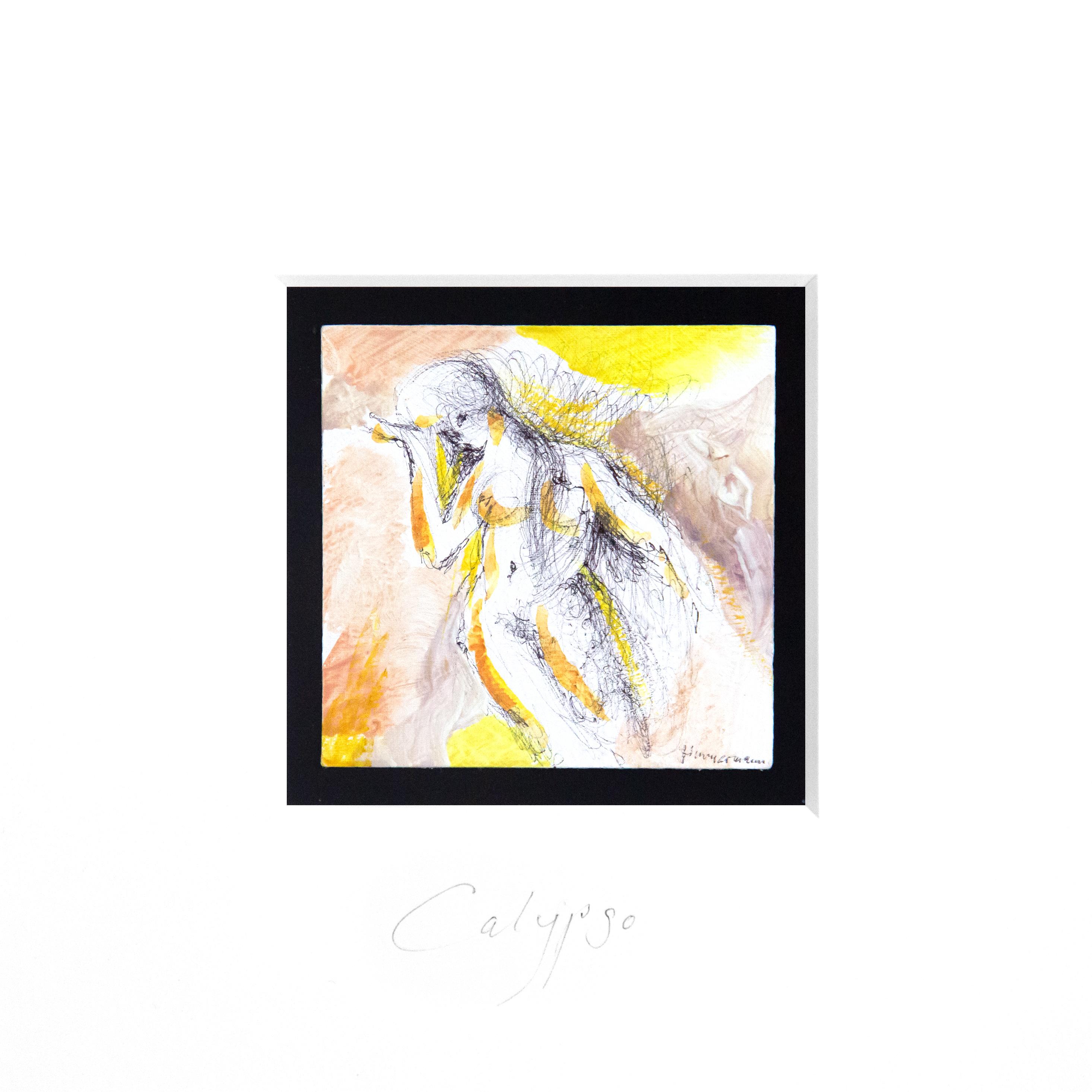 Calypso (Miniatur-Gemälde)