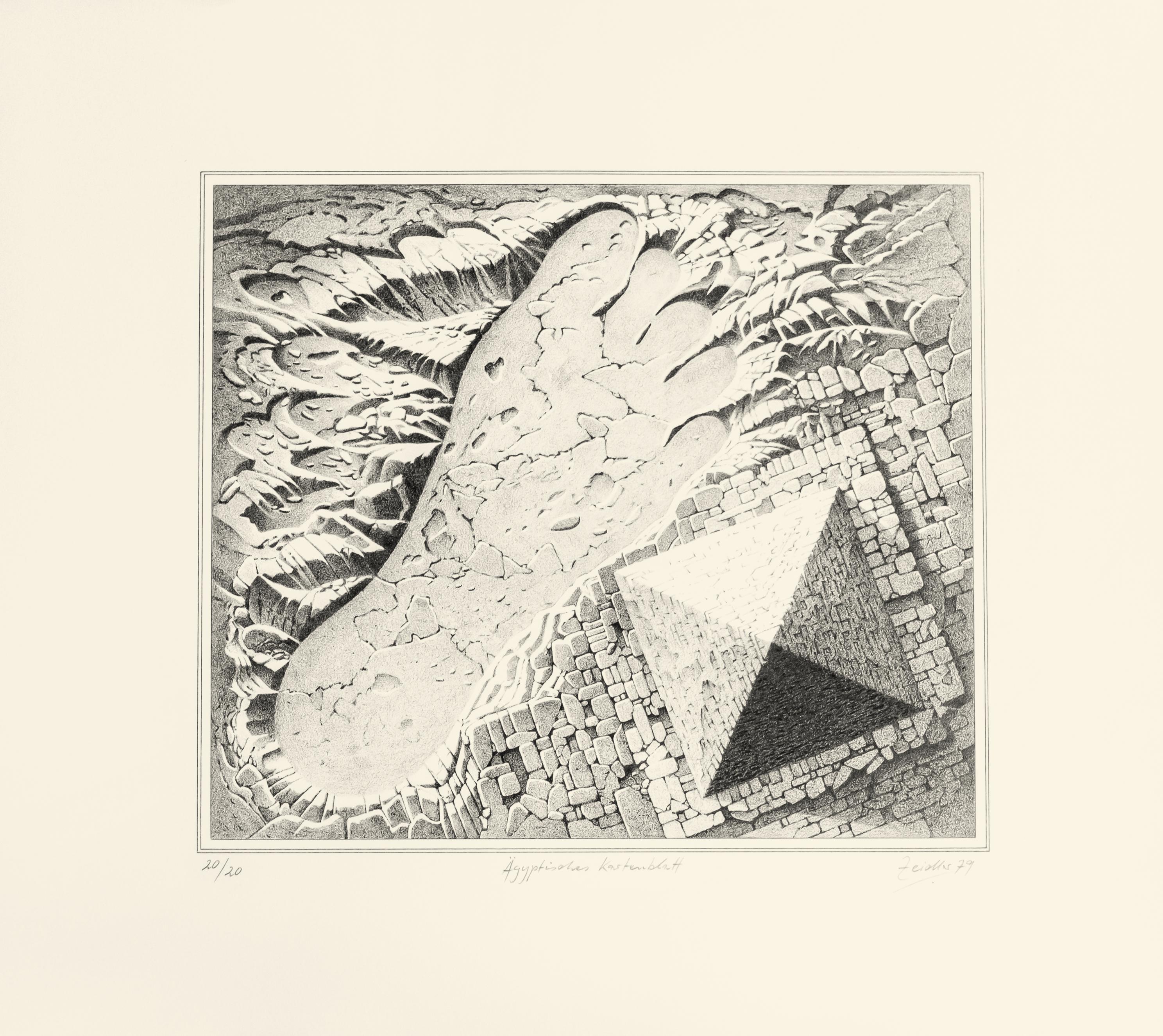 Ägyptisches Kartenblatt
