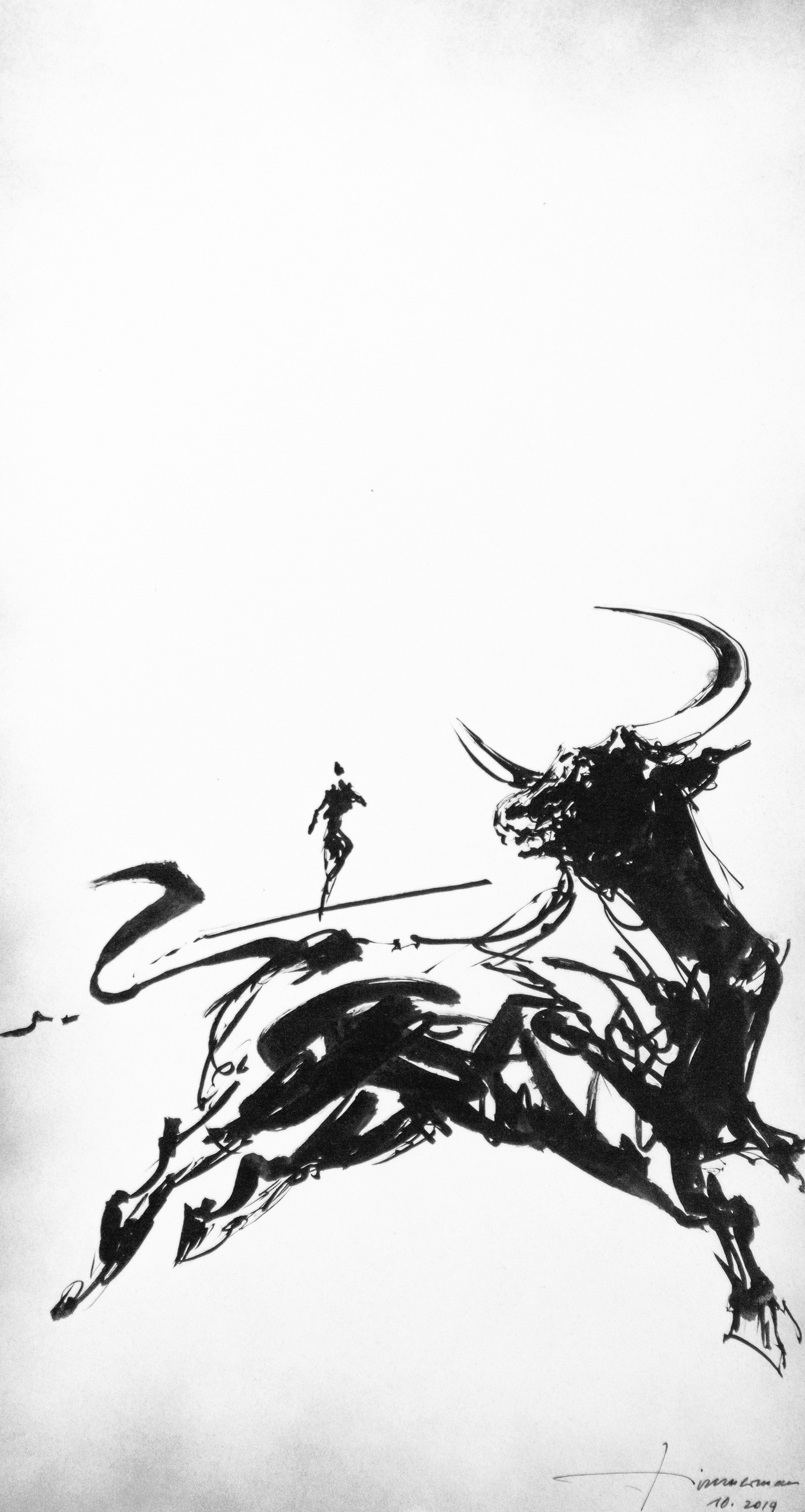 Zeus als Stier und Europa