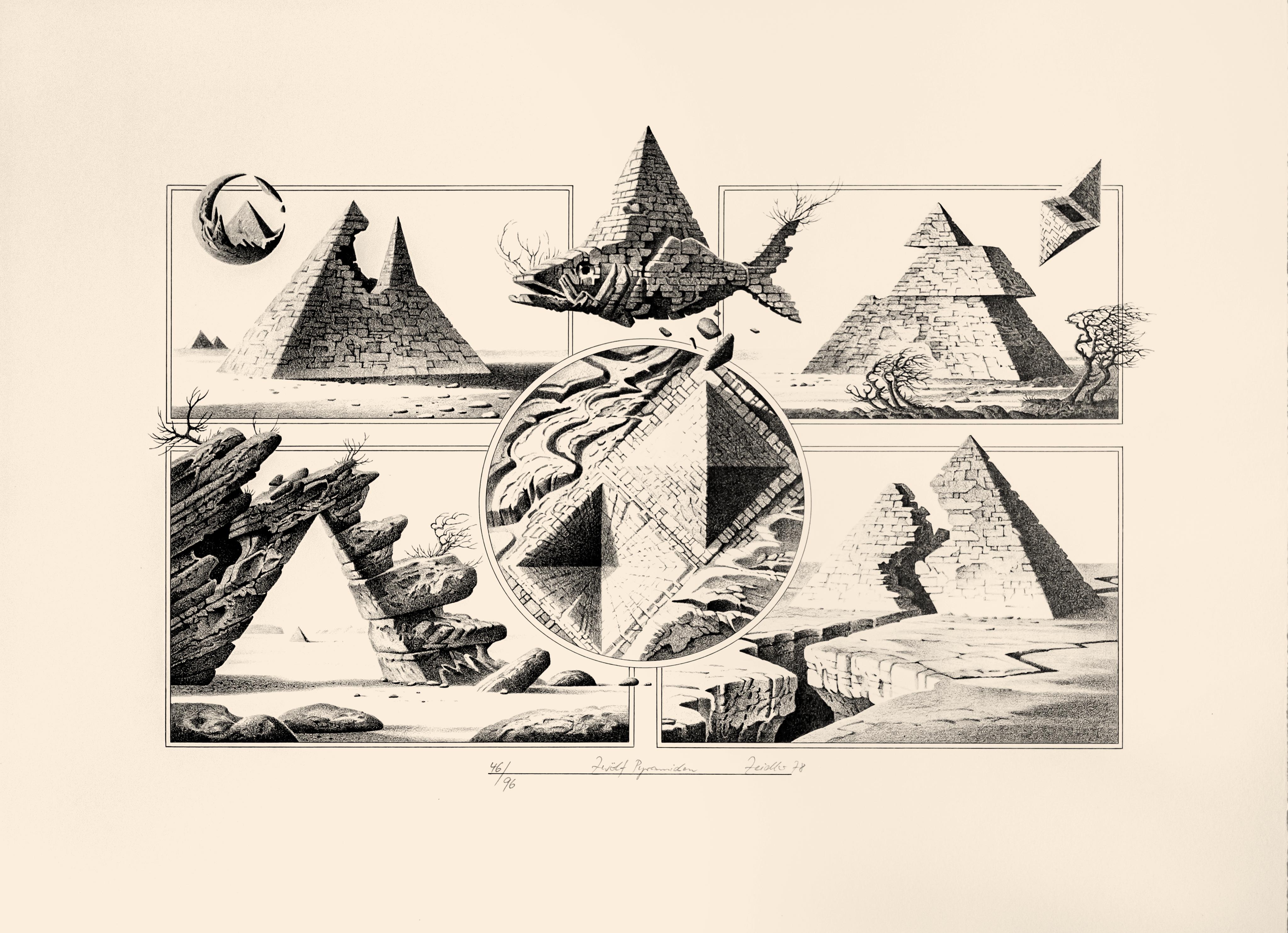 Zwölf Pyramiden